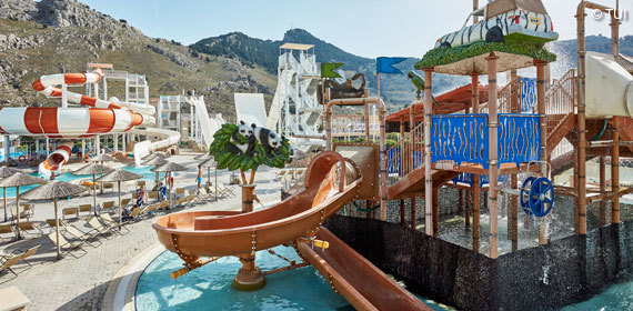 Aquapark des TUI FAMILY LIFE Aegean Blue by Atlantica
